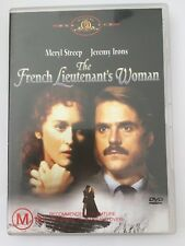 THE FRENCH LIEUTENANT'S WOMAN R4 DVD FREE POST Meryl Streep Jeremy Irons