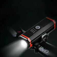 Bicycle Headlight USB Rechargeable Light Bike Front Light Cycling Waterproof LED