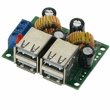 USB Step-down Power Supply Converter Board Module DC 12V 24V 40V to 5V 5A New