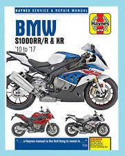 MAN6400 Manuale D'Officina Haynes BMW S XR S1000 S1000R S1000RR & S1000XR