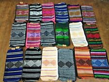 24 PIECE WHOLESALE SET OF MAKE UP BAG, HIPPIE GEAR, MEXICAN MADE , SURF , PINZON