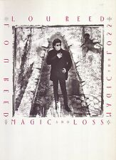 LOU REED MAGIC AND LOSS SONGBOOK 1992 NEUF MINT 14 SONGS Regardez les PHOTOS