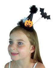 Needzo Girl's Halloween Clip On Hat Sparkly Fascinator Hair Piece, 5 Inch