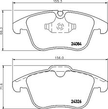Mintex Front Brake Pad Set MDB2944  - BRAND NEW - GENUINE - 5 YEAR WARRANTY