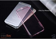 iPHONE 6 / 6S - GEL COVER - PINK - SILIKON SCHUTZ HÜLLE, TPU CASE, BUMPER