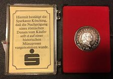 Jubiläumsmünze / Medaille 1900 Jahre Kösching Silber Denar