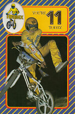 Vintage 1980's Ultimate BMX Happy 11th Birthday Greeting Card ~11 Years Old