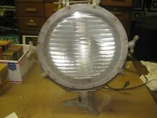VINTAGE S&M LAMP G-30 FLOOD SPOT SEARCH FLOOD LIGHT INDUSTRIAL Lamp Ship ? OLD