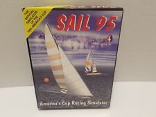 Sail 95 America's Cup Simulator PC Windows 3.1 Game Vintage Complete With Manual