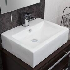 Rectangle Cloakroom Countertop Bathroom Sinks