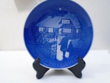 1973 Bing and Grondahl B & G Christmas Plate Country Christmas Mint Condition