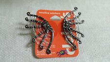 Claire's ST Metal Wire Wrapped Gun Metal Gray Spider Web Post Pierced Earrings