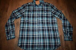The North Face Men's Hayden Pass 2.0 L/S Shirt Size M (Storm Blush Plaid) NWT
