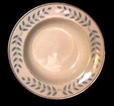 Lamberton Ivory China Rimmed Soup Bowl - Discontinued Pattern - Empire