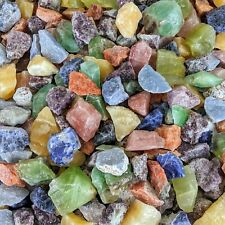 1 lb Raw Chakra Crystal Assortment Rough Mix Healing Meditation Therapy Stones