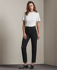 AG Adriano Goldschmied 26 WOMENS THE PHOEBE REBELLION hight waisted tapered leg