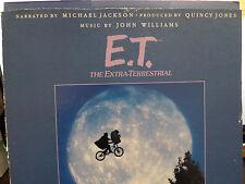 E.T. The Extra-Terrestrial Jackson, Jones, Williams 33 RPM VINYL  011216 TLJ