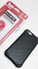 NEW for Iphone 6 6S Ballistic Carbon Fiber Design shockproof TPU case USA SELLER