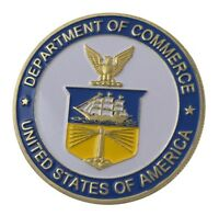 U.S. United States | Department Of Commerce | Gold Plated Challenge Coin