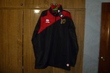 MK Dons Errea Football Training Jacket Top Milton Soccer Long Sleeve New Size M
