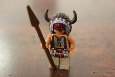 LEGO Minifig Disney Lone Ranger Red Native American Tribal Indian AS NEW