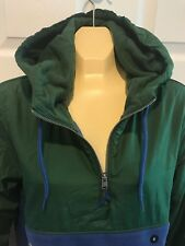 Hollister By Abercrombie & Fitch Men's Half Zip Hoodie Jacket Pullover size M