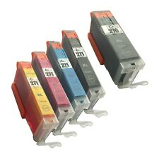 5 PACK 270 271 XL High Yield Ink Cartridges for Canon Pixma TS 6020 8020 9020
