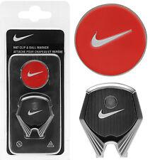 Nike Golf Hat Clip & Ball Marker - Max Orange - 1st Class Post Cap Visor