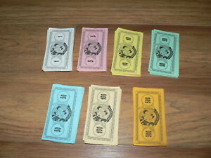 Monopoly The Disney Edition 2001 Replacement Money