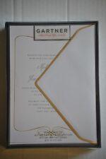 Gartner Gold Foil Filagree Wedding Invitations, Envelopes Kit 12627, Quantity 25
