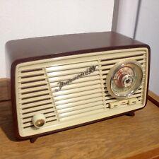 Antikes Bakelit Radio VEB Sternradio Sonneberg Ilmenau 480 Kleinstsuper