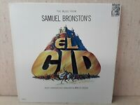 The Music From Samual Bronston's El CID LP Record