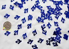 Wedding Table Scatters Foil Confettii 21st Birthday Blue x 3
