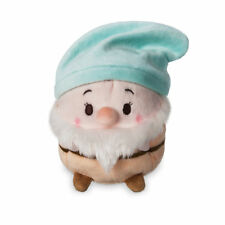 "Disney Store Snow White & The Seven Dwarfs 4.5""H Ufufy Bashful Scented Plush NWT"