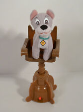 "RARE 2001 Scamp & Chair 4"" Plush Figure McDonald's EUROPE Disney Lady & Tramp 2"