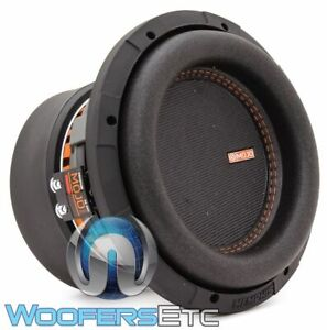 "MEMPHIS MJM844 8"" MOJO MINI SUB 1800W DUAL 4-OHM CAR SUBWOOFER BASS SPEAKER NEW"