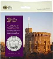 Royal Mint 2017 House of Windsor £5 Five Pound Brilliant Uncirculated Coin Pack