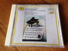 Mozart Kempff Klavierkonzerte 23 24 CD Deutsche Grammophon 423 885-2