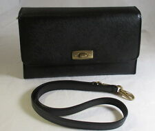 "COACH Vintage Madison ""Gramercy"" Collection Navy Blue Convertible Clutch Bag"