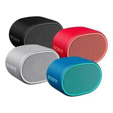 "COMPACT SONY SRS-XB01 PORTABLE ""EXTRA-BASS"" SPLASH-PROOF BLUETOOTH SPEAKER"