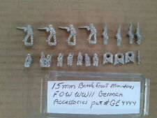 15mm Battlefront Miniatures FOW German Assorted  Accessories