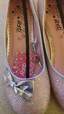 Girls//infant shimmer pink party, wedding shoes sizes 10,11,12-13,1,2,3,4