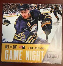 2017-18 Buffalo Sabres program 10/24/17 Ristolainen cover v Detroit