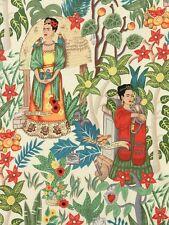 FRIDA'S GARDEN~Alexander Henry~Mexican ~Frida Kahlo~Folklorico~Fabric~per 1/2 yd