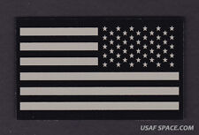 AUTHENTIC US MILITARY IR INFRARED Reverse Facing US FLAG PATCH ~ MINT