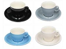 PROFESSIONAL Coffee Cups & Saucers - Flat White Espresso  Cappuccino LIKE COSTA
