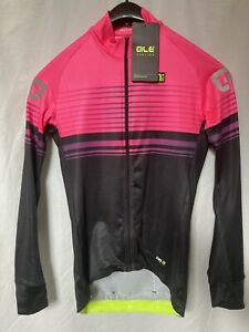 Ale Road Long Sleeved Jersey Pink/black New With Tags RRP £115