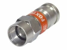 RG6 Compression Crimp Connector For Coaxial F Type  Foxtel Approved F30574