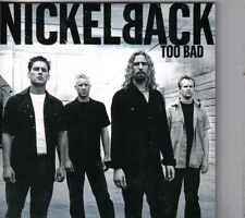 Nickelback-Too Bad cd single incl video