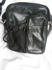 Wilsons Leather Crossbody Black Travel Bag